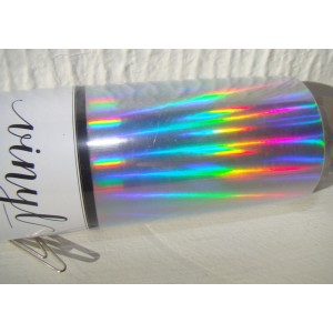 Adhesive Vinyl  Holographic Roll (30cmx1.2m)  (12*48 inch) Single Sheet   347285